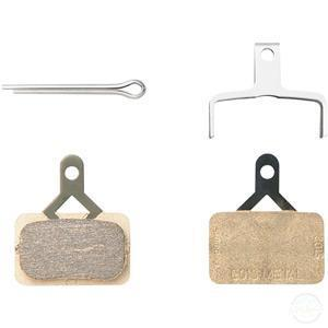 Shimano BR-M575 pads and spring, E01S metal-Brake Pads - Disc-Shimano-3 Peaks Cycles Bike Shop & Cafe