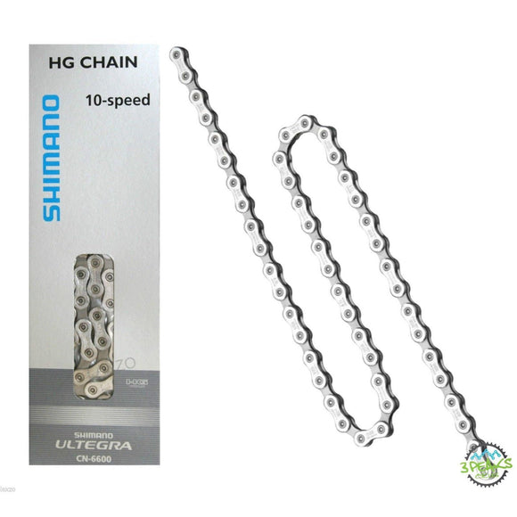 Shimano CN-6600 Ultegra 10-speed chain - 114 links-Chains-Shimano-3 Peaks Cycles Bike Shop & Cafe