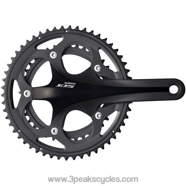 Shimano FC-5750 105 10 Speed Compact chainset - HollowTech II 175 mm 50 / 34T-Chainsets