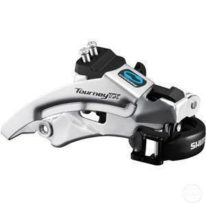 Shimano FD-Tx800 Tourney Tx Front Derailleur, Top Swing, Dual Pull, For 42/48T, 66-69-Front Derailleurs