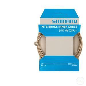 Shimano MTB Tandem Stainless Steel Inner Brake Wire,1.6 X 3500 mm-Cables