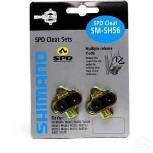 Shimano SH56 MTB SPD cleats multi-release-Pedal Cleats-Shimano-3 Peaks Cycles Bike Shop & Cafe