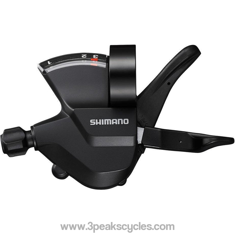 Shimano Sl-M315-L Shift Lever, Band On, 3-Speed, Left Hand-Gear Shifters