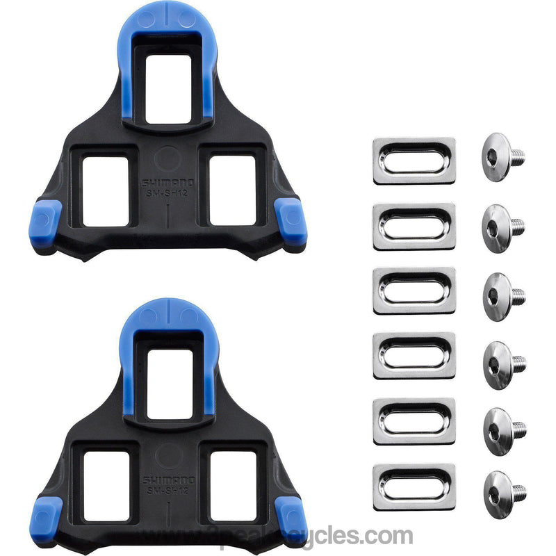 Shimano SM-SH12 SPD SL-Cleats , Front Pivot Floating , Blue-Pedal Cleats