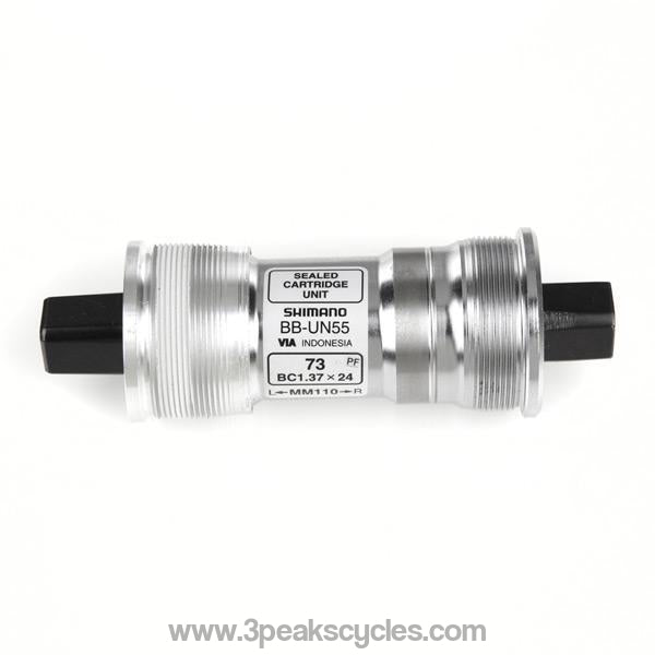 Shimano Square Taper Bb-Un55 Bottom Bracket British Thread-Bottom Brackets