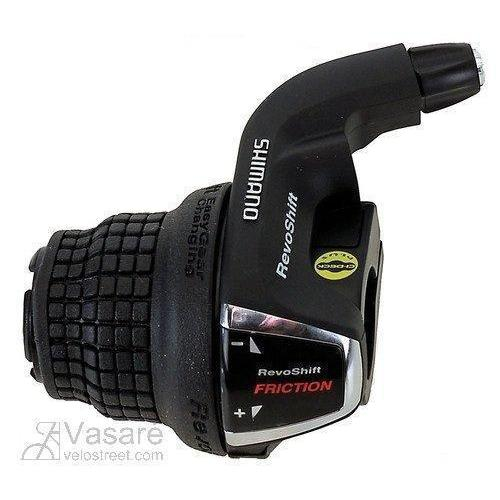Shimano Tourney 3 Speed Left Revoshifter-Gear Shifters