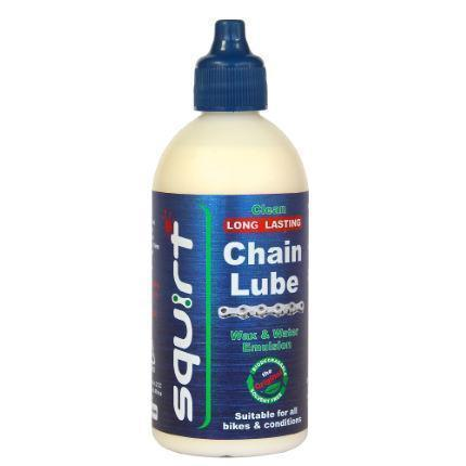 Squirt Wax Chain Lube 120Ml-Cleaning & Lubrication