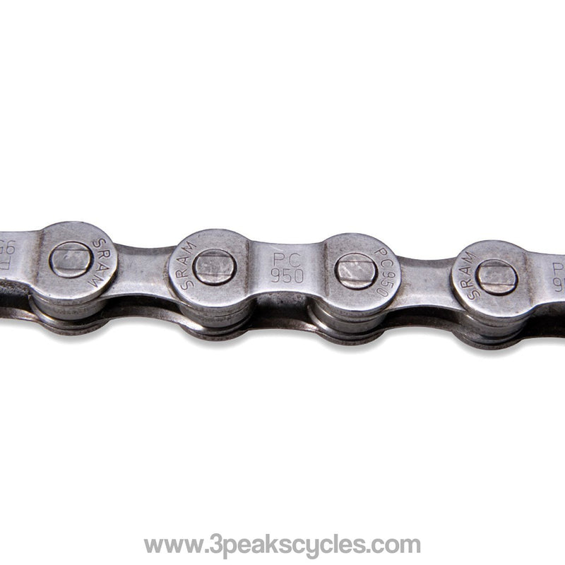 SRAM *UNBOXED* PC951 9SPD CHAIN GREY (114 LINKS)-Chains