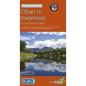 Sustrans Cycle Map - Calendonia Way (Route 78)-Books & Maps