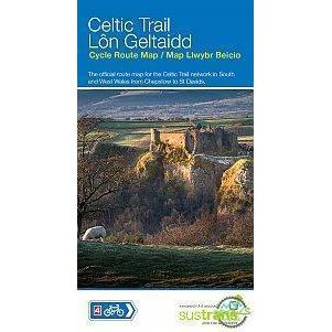 Sustrans Cycle Map - Celtic Trail (Route 4) - Chepstow To St Davids-Books & Maps