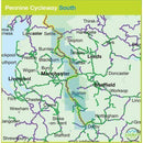 Sustrans Cycle Map - Pennine Cycleway South (Route 68) - Derby To Settle - 2nd Edition-Books & Maps