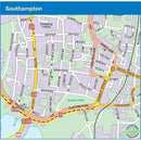 Sustrans Cycle Map - South Coast East (Route 2) - Cycle Route Map - Brockenhurst To Dover-Books & Maps