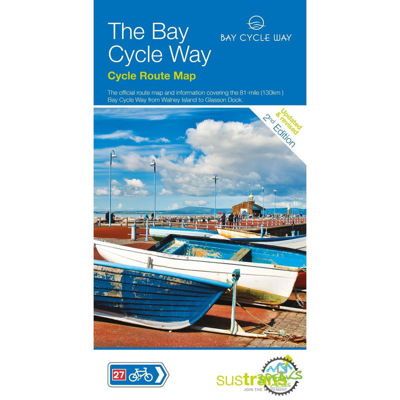 Sustrans Cycle Map - The Bay Cycle Way (Route 700) - 2nd Edition-Books & Maps