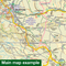 Sustrans Cycle Map - The Salmon Run (Route 77) - Dundee To Pitlochry-Books & Maps
