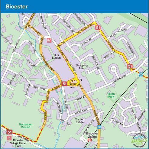Sustrans Cycle Map - The Varsity Way (Route 51) - Oxford To Cambridge-Books & Maps