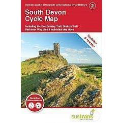 Sustrans Pocket Guide 2 - South Devon Cycle Map - Including Exe Estuary Trail, Drake's Trail-Books & Maps