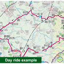 Sustrans Pocket Guide 25 - Merseyside & Manchester Cycle Map - Inc The Pennine Cycleway & The Trans Pennine Trail-Books & Maps