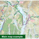 Sustrans Pocket Guide 31 - South Cumbria & The Lake District Cycle Map - Walney To Wear & Whitby, Hadrian's Cycleway, Sea To Sea-Books & Maps