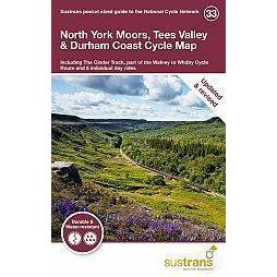 Sustrans Pocket Guide 33 - North York Moors, Tees Valley & Durham Coast Cycle Map-Books & Maps