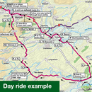 Sustrans Pocket Guide 39 - North Northumberland & The Scottish Borders Cycle Map - Coast & Castles South, Pennine Cycleway North-Books & Maps