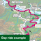 Sustrans Pocket Guide 42 - Oban, Kintyre & The Trossachs Cycle Map-Books & Maps