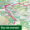Sustrans Pocket Guide 43 - Perth, Callander & Pitlochry Cycle Map - Lochs Glens North, Coast Castles North, Salmon Run-Books & Maps
