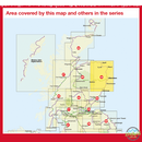 Sustrans Pocket Guide 45 - Aberdeenshire Cycle Map - Coast & Castles North, Deeside Way-Books & Maps