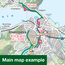 Sustrans Pocket Guide 47 - Great Glen & Loch Ness Cycle Map - The Caledonia Way, Lochs & Glens North-Books & Maps