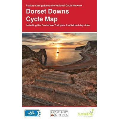 Sustrans Pocket Guide 5 - Dorset Downs Cycle Map 5 - Including The Castleman Trail-Books & Maps