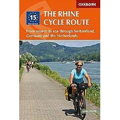 The Rhine Cycle Route-Books & Maps-Cicerone-3 Peaks Cycles Bike Shop & Cafe