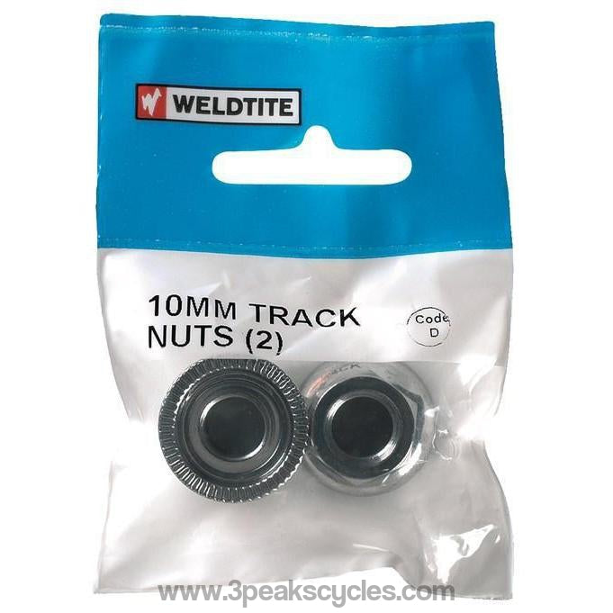 Weldtite 10mm Track Nuts X2-Spares
