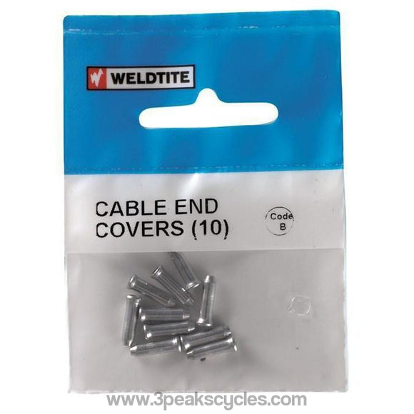 Weldtite Cable End Covers-Spares-Weldtite-3 Peaks Cycles Bike Shop & Cafe