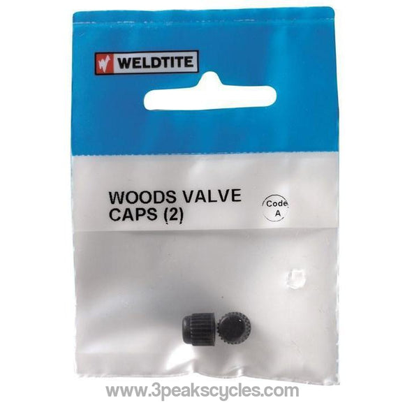 Weldtite Woods Valve Caps-Spares-Weldtite-3 Peaks Cycles Bike Shop & Cafe