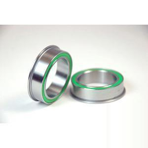 Wheels Manufacturing Bb86 To 30 mm Replacement Bearing 30mm Id X 41mm Od Flanged, Dual Row Stainless-Bottom Brackets
