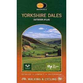 Yorkshire Dales National Park Outdoor Atlas 1:40 000-Books & Maps
