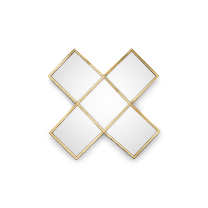 Mirror Cross Gold - Lounge&Lifestyle