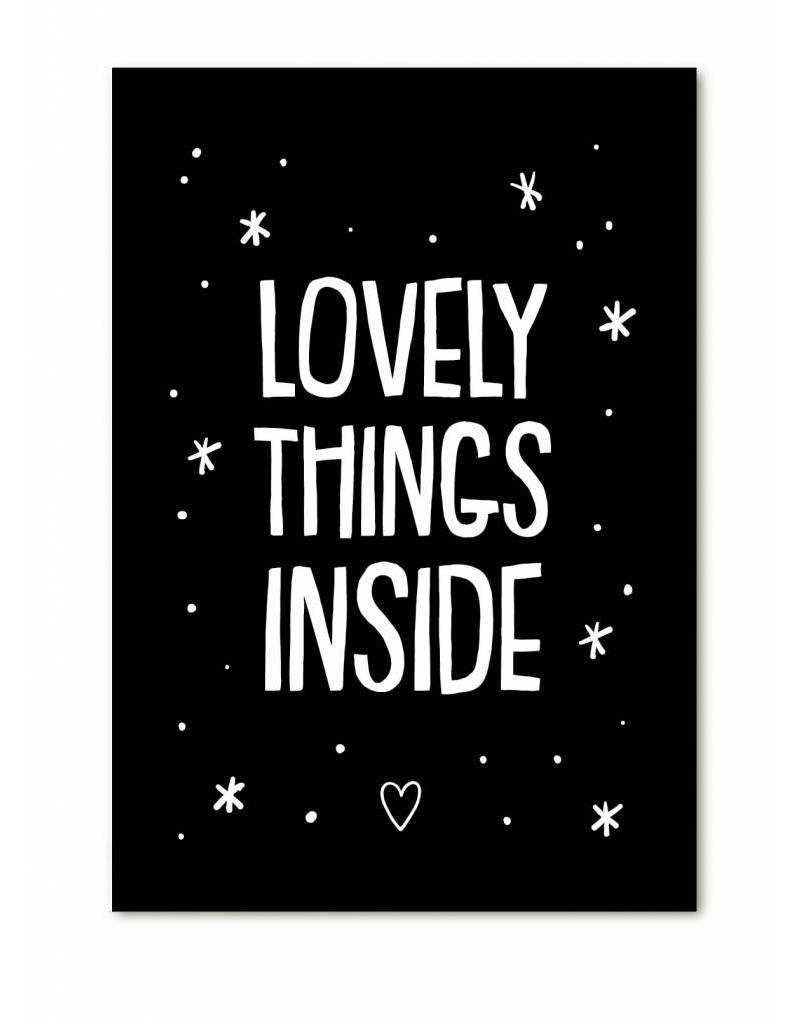 Cadeaukaartje - Lovely things inside - Lounge&Lifestyle