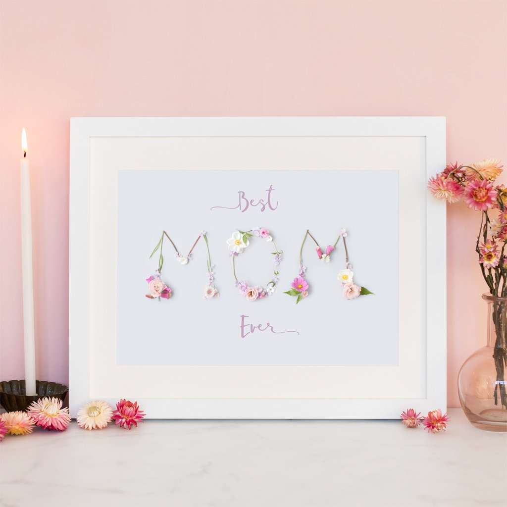 Best Mum Ever Print