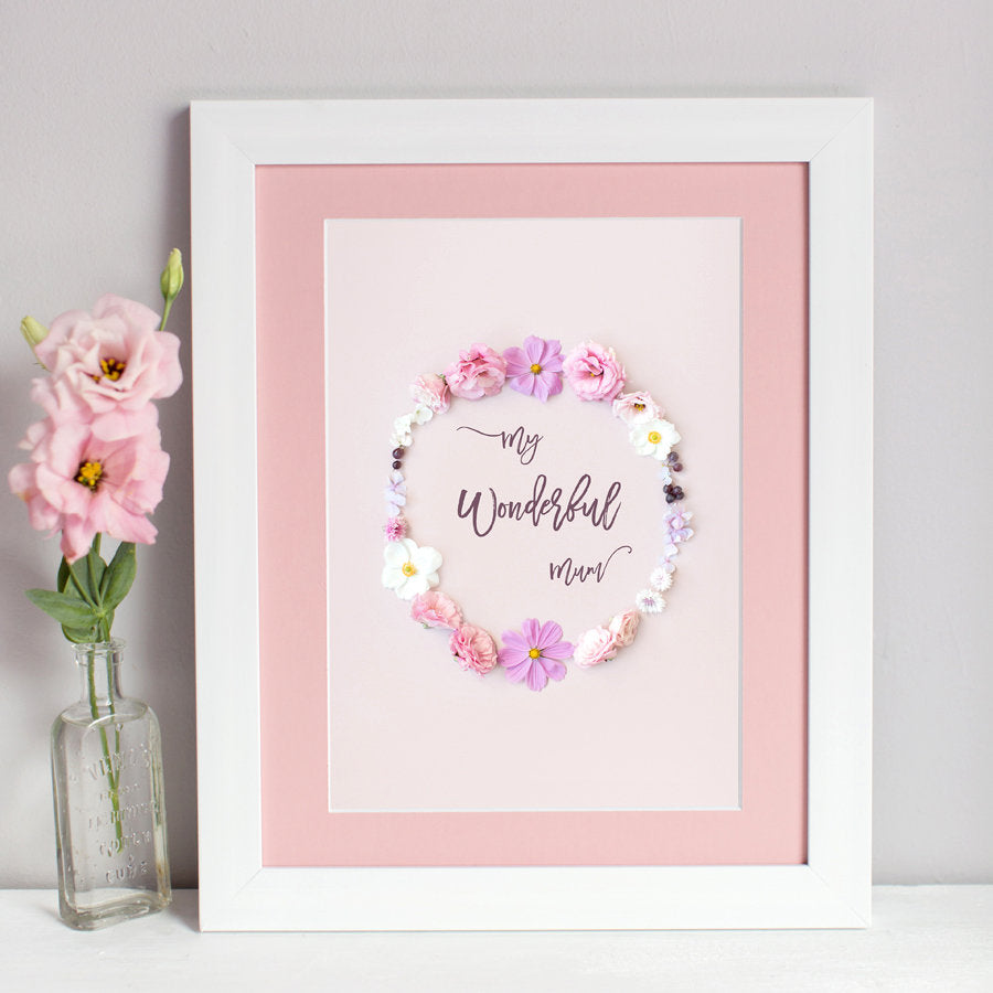 """My Wonderful Mum"" Print"
