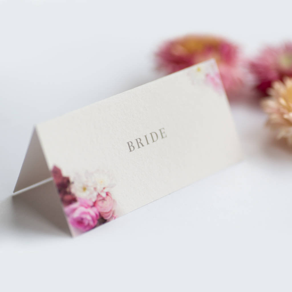 Secret Garden Collection: Place Cards
