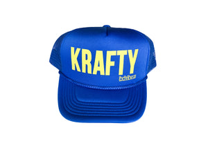 KRAFTY - ROYAL BLUE WITH YELLOW