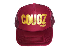 MAROON W/GOLD METALLIC COUGZ