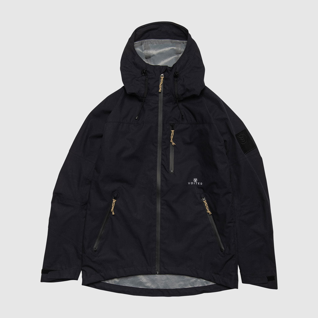 ALPHA V-HJT1 HOODED WATERPROOF JACKET DARK NAVY