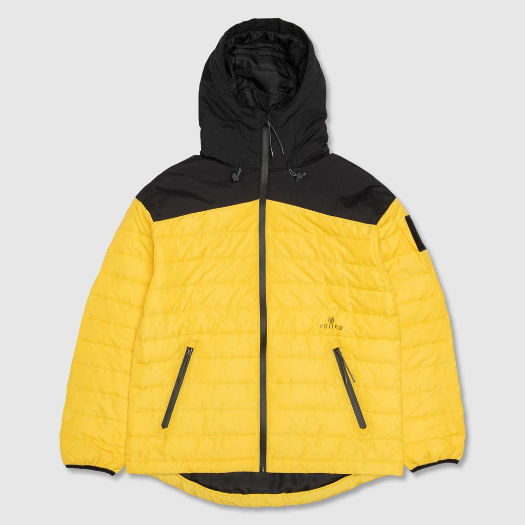 GAMMA V-NPT7 NANO PUFF SYNTHETIC DOWN JACKET BLACK/LEMON
