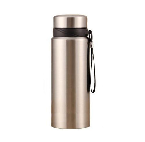 Gourde Isotherme Infuseur Inox argent