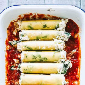 "The ""Cannelloni"" Pasta Kit - Spinach & Ricotta (V) x2"