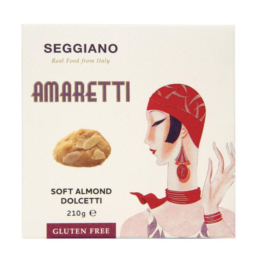 Amaretti Soft Almond Biscuits 210g (GF)