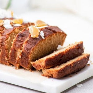 DEVOURS Polenta & Orange Loaf Cake