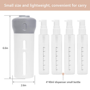 4 in 1 travel bottle set - beautylable