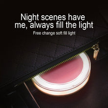 Load image into Gallery viewer, LED Lights Mini Makeup Mirror - beautylable